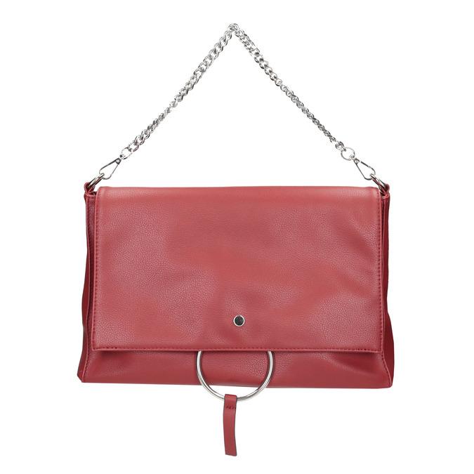 Červené psaníčko s řetízkem bata, červená, 961-5164 - 26
