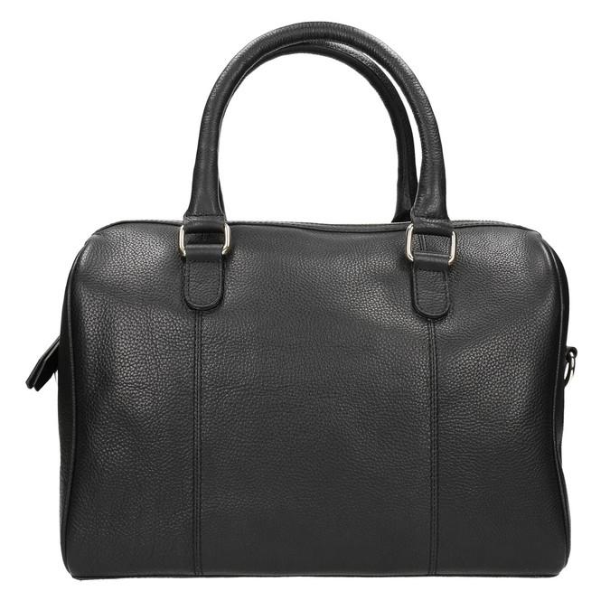 Dámská kožená kabelka bata, černá, 964-6281 - 17