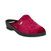 Dámská domácí obuv bata, červená, 579-5620 - 13