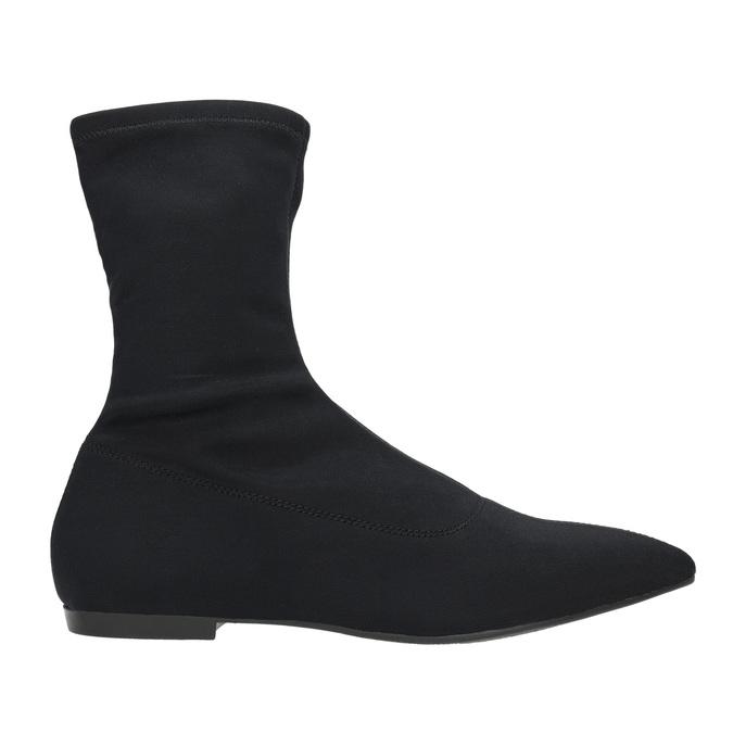 Černé dámské kozačky vagabond, černá, 519-6015 - 15