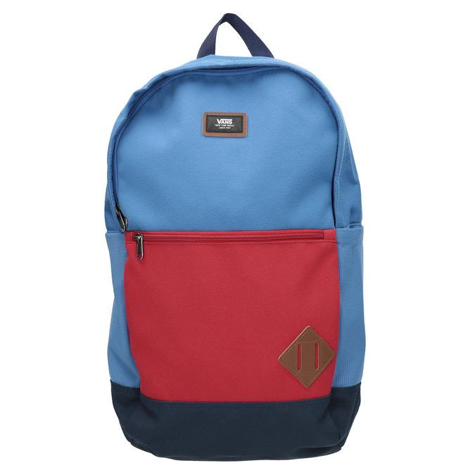 Modrý batoh s červenou kapsou vans, modrá, 969-9095 - 26