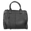 Kožená dámská kabelka fredsbruder, černá, 963-6002 - 16