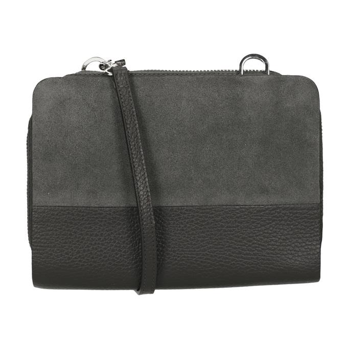 Kožená dámská Crossbody kabelka royal-republiq, šedá, 963-2050 - 16