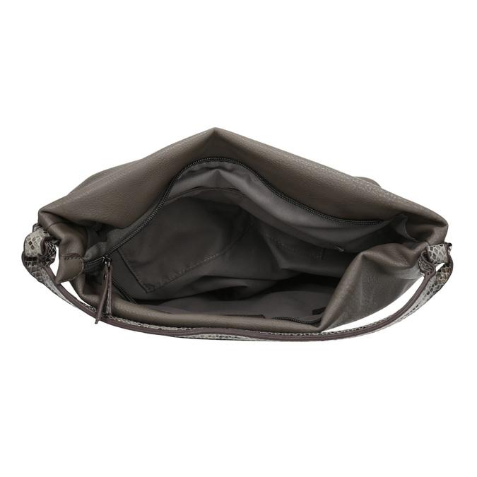 Dámská Hobo kabelka s popruhem gabor-bags, hnědá, 961-8029 - 15