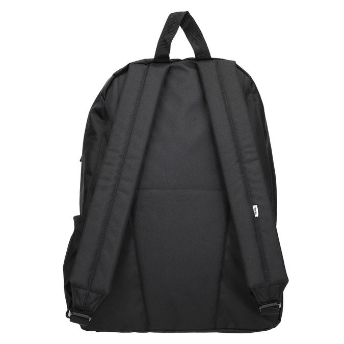 Černý batoh s logem vans, černá, 969-6078 - 16