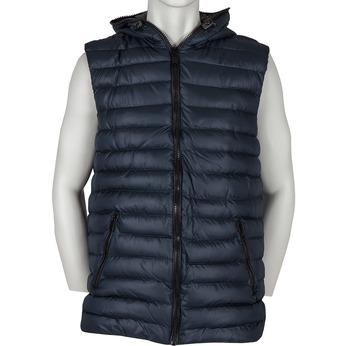 Modrá pánská vesta bata, modrá, 979-9116 - 13