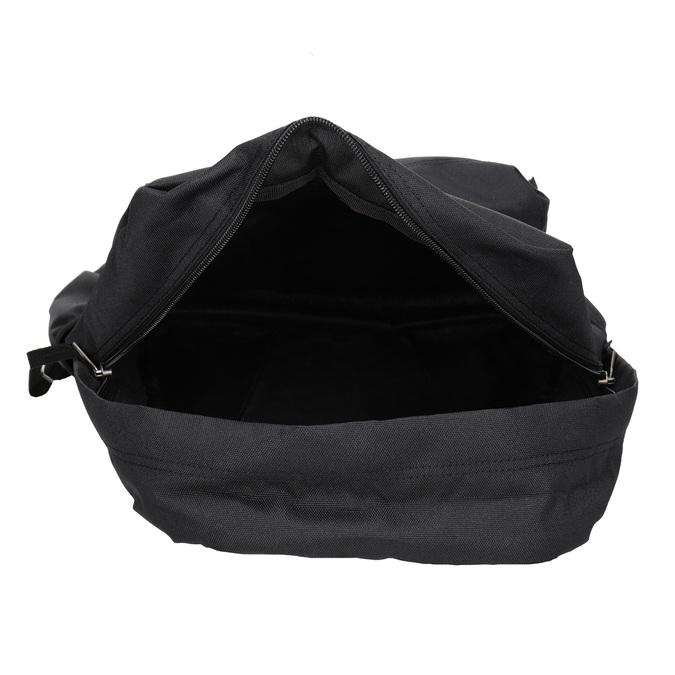 Černý batoh s logem vans, černá, 969-6078 - 15