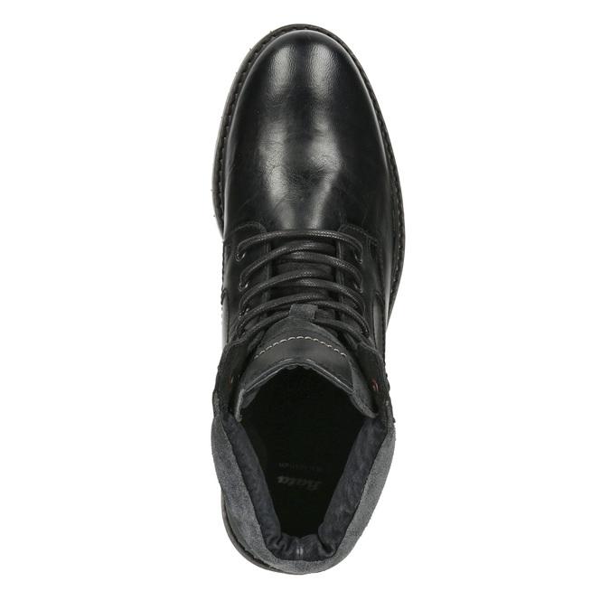 Kožená pánská zimní obuv bata, černá, 894-6689 - 15
