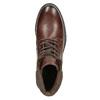 Kotníčková pánská obuv bata, hnědá, 896-4689 - 15