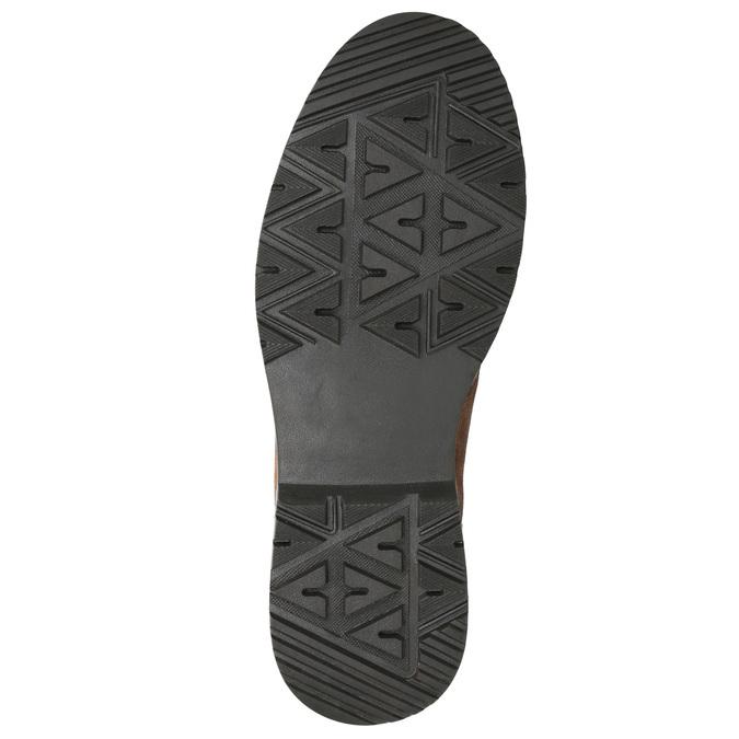 Kožená pánská zimní obuv bata, hnědá, 896-4668 - 19