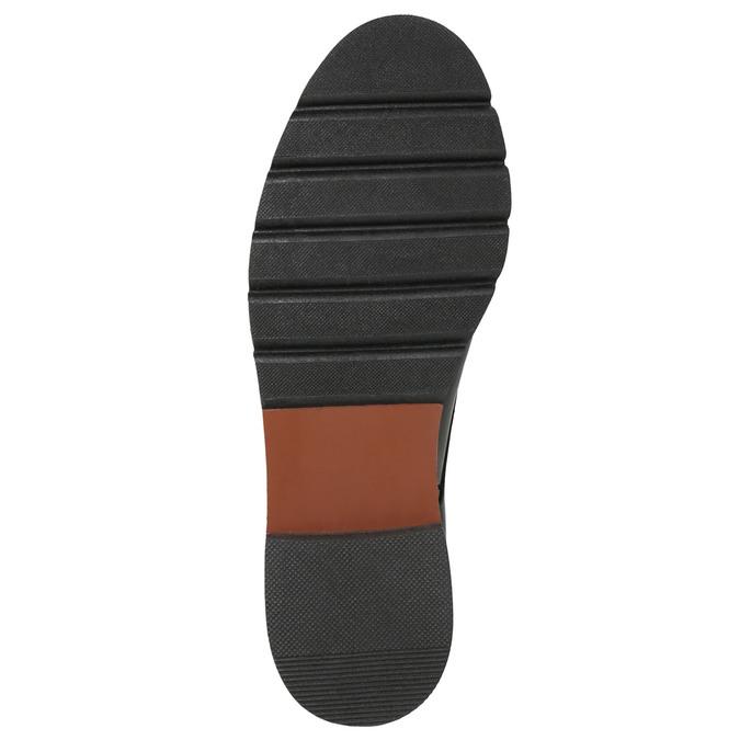 Dámské kožené Monk Shoes bata, červená, 516-5611 - 19
