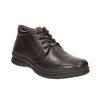 Kožená pánská zimní obuv comfit, hnědá, 894-4686 - 13