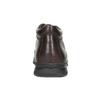 Kožená pánská zimní obuv comfit, hnědá, 894-4686 - 17