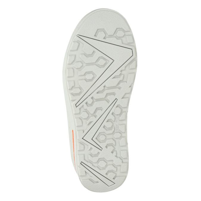 Dětká zimní obuv z kůže weinbrenner-junior, zelená, 493-7612 - 17
