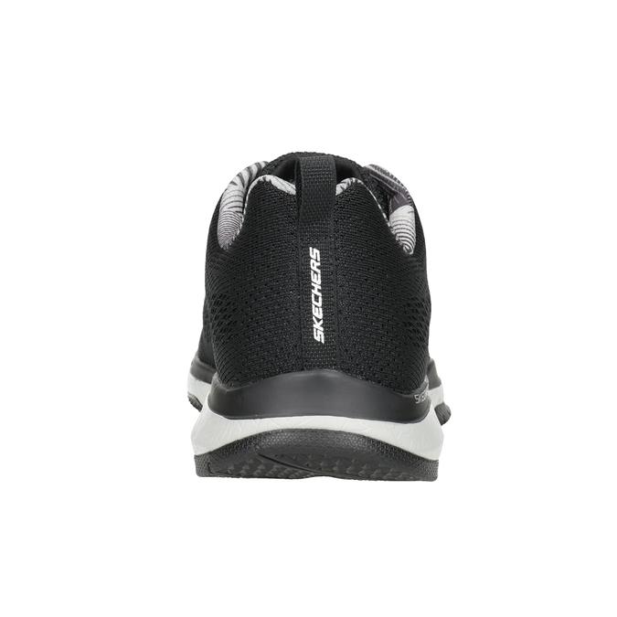 Černé pánské tenisky skechers, černá, 809-6330 - 16