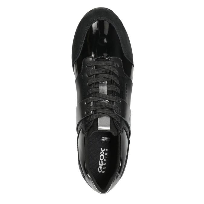 Dámské černé tenisky geox, černá, 621-6045 - 15