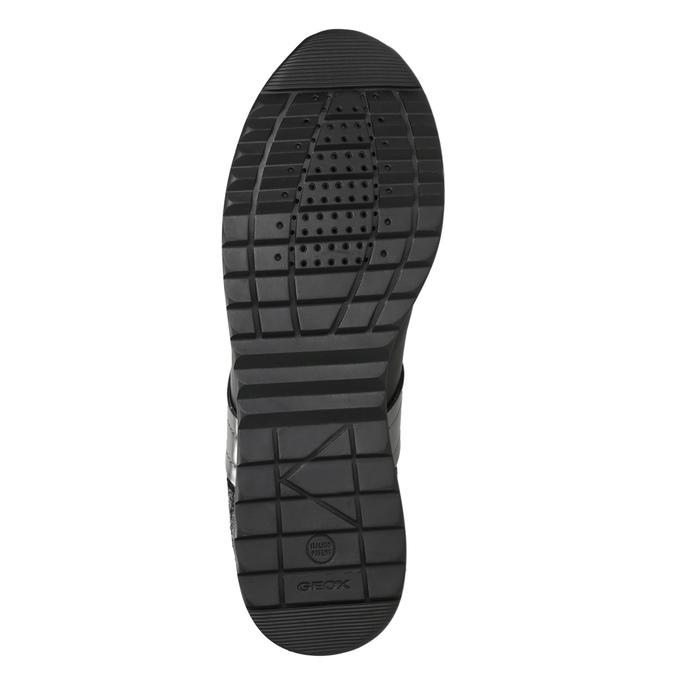 Dámské černé tenisky geox, černá, 621-6045 - 17