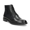 Kožená kotníčková dámská obuv vagabond, černá, 524-6010 - 13