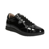 Černé kožené tenisky geox, černá, 528-6083 - 13