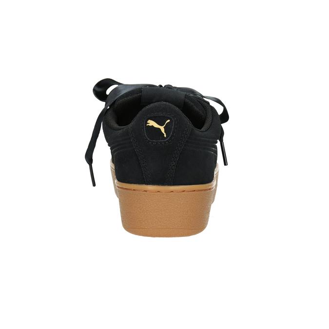 Dámské kožené tenisky puma, černá, 503-6169 - 16