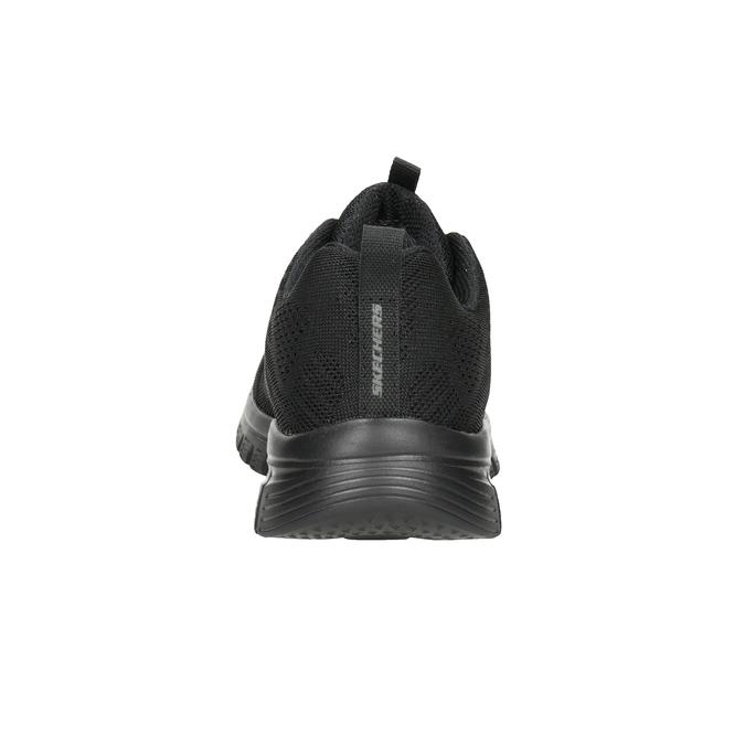 Černé sportovní tenisky s perforací skechers, černá, 509-6318 - 16