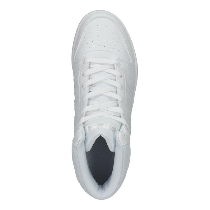 Bílé kotníčkové tenisky adidas, bílá, 501-1212 - 15