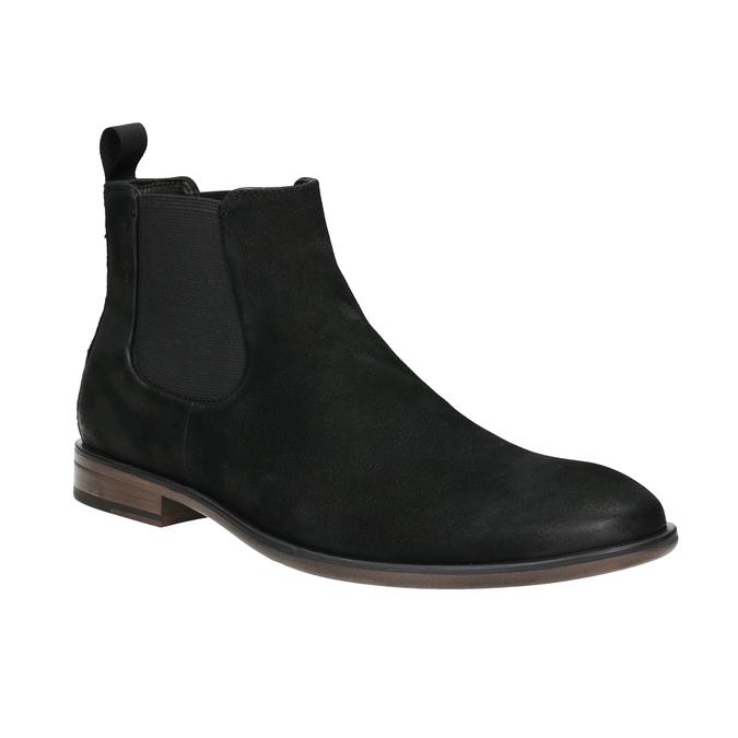 Kožená obuv v Chelsea stylu vagabond, černá, 816-6028 - 13