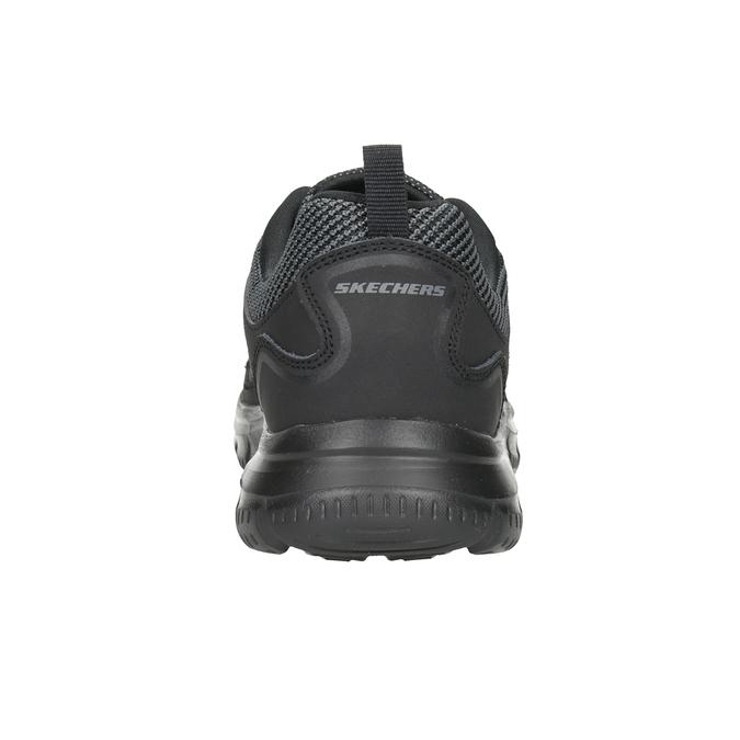 Pánské černé tenisky skechers, černá, 809-6331 - 16