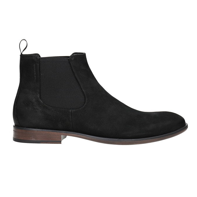 Kožená obuv v Chelsea stylu vagabond, černá, 816-6028 - 26