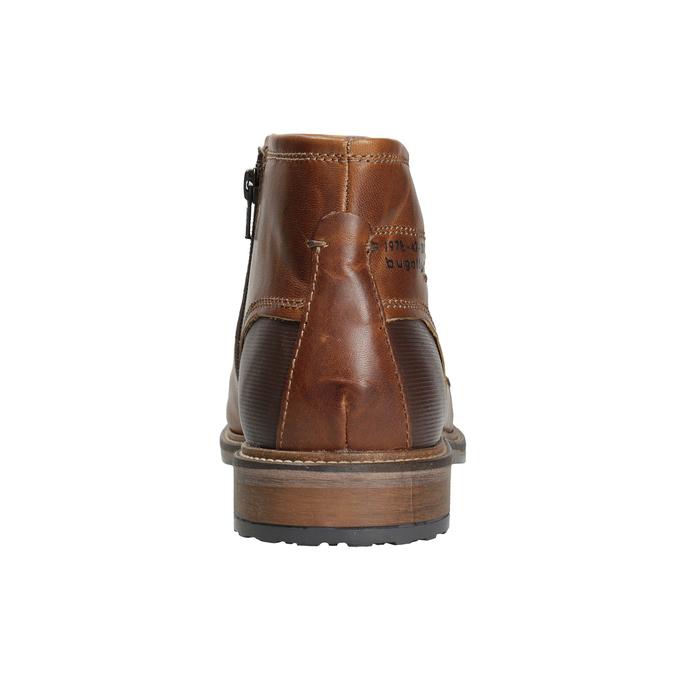 Pánská kožená kotníčková obuv bugatti, hnědá, 816-4044 - 16