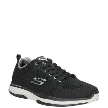 Černé pánské tenisky skechers, černá, 809-6330 - 13