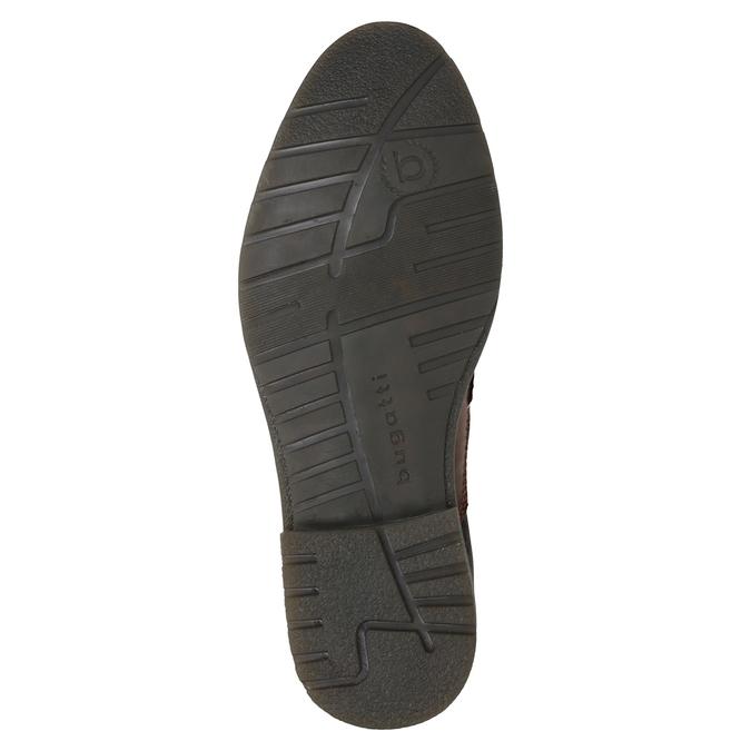 Kožená kotníčková obuv bugatti, hnědá, 824-6010 - 17