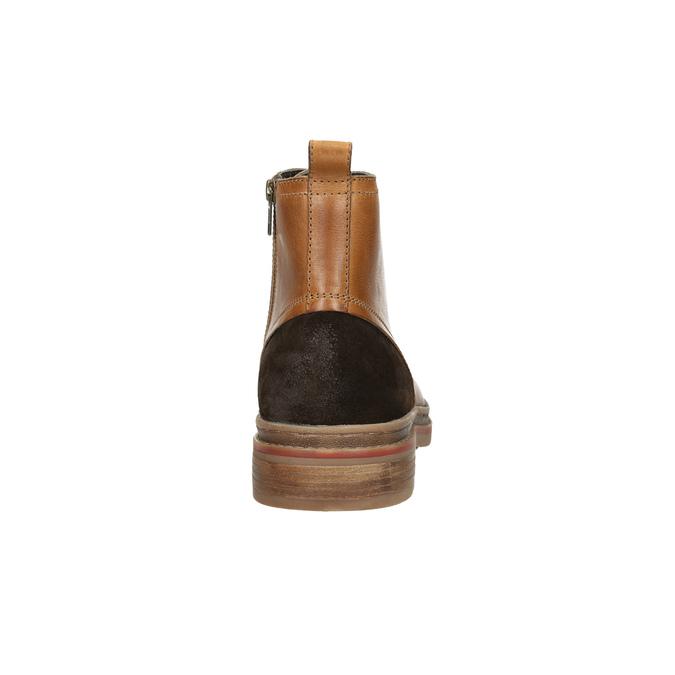 Kotníčková pánská zimní obuv bata, hnědá, 896-3685 - 17