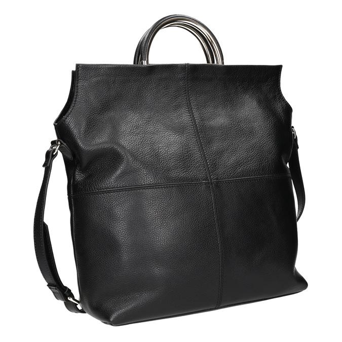 Kožená dámská kabelka bata, černá, 964-6273 - 13