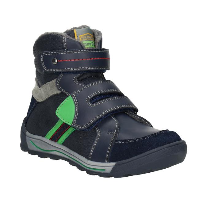 Kotníčková dětská zimní obuv mini-b, modrá, 291-9627 - 13