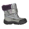 Dívčí zimní obuv s kožíškem bubblegummers, šedá, 193-2601 - 15