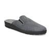 Pánská domácí obuv bata, šedá, 879-2610 - 13