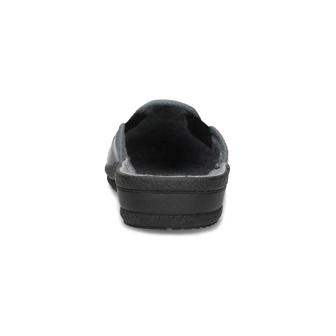 Pánská domácí obuv bata, šedá, 879-2610 - 15