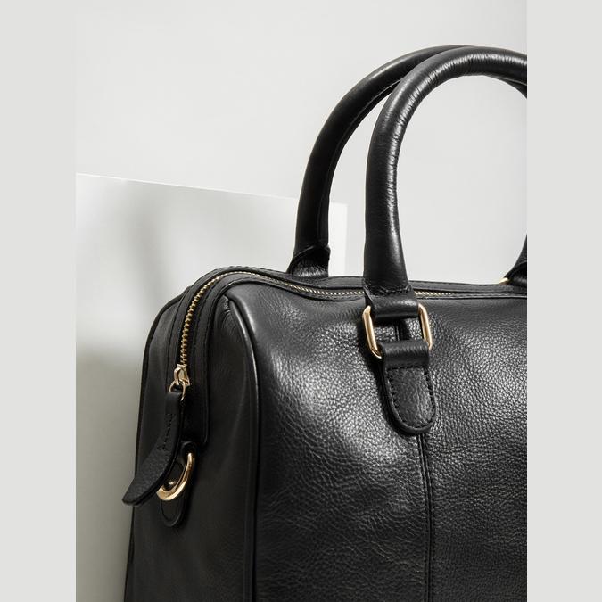 Dámská kožená kabelka bata, černá, 964-6281 - 14