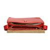Červená kožená kabelka vagabond, červená, 964-5086 - 15