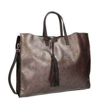 Dámská kabelka se střapcem bata, hnědá, 961-8200 - 13
