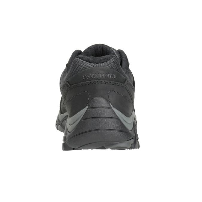 Pánská kožená obuv v Outdoor stylu merrell, černá, 806-6561 - 16