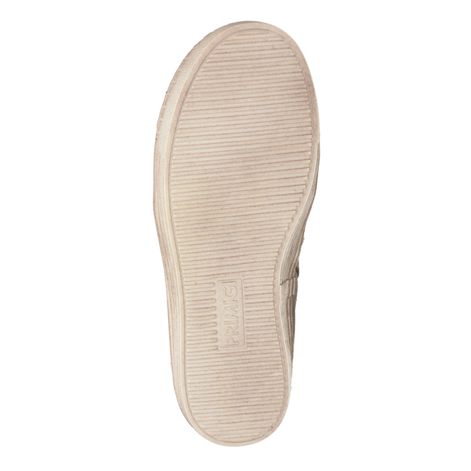 Dětské zimní boty s kožíškem primigi, béžová, 393-8015 - 17