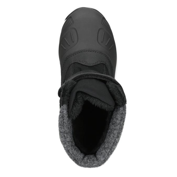 Dětská zimní obuv na suché zipy icepeak, černá, 399-6018 - 15