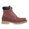 Kotníčková obuv na výrazné podešvi weinbrenner, červená, 596-5664 - 26