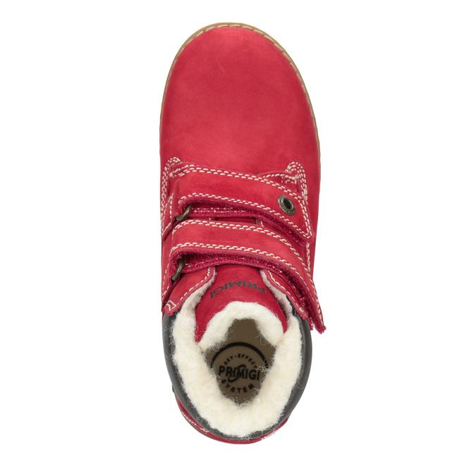 Dětské kotníčkové boty se zateplením primigi, červená, 324-5012 - 15