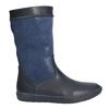 Modré dívčí kozačky bata, modrá, 394-9196 - 15