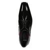 Lakované pánské polobotky bata, černá, 821-6601 - 15