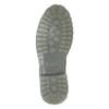 Pánská kožená obuv s výraznou podešví weinbrenner, šedá, 896-2702 - 17