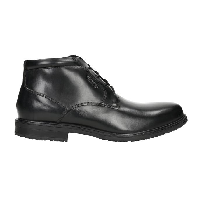 Kožená kotníčková obuv rockport, černá, 894-6036 - 26